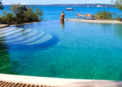 Chapwani har også en dejlig swimmingpool