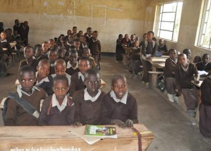 Et skolebesøg i Arusha er en stor oplevelse