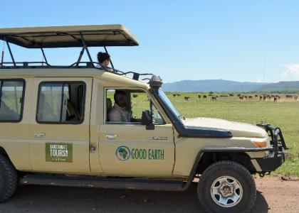 Hos os får I jeres egen safari-bil med privat guide