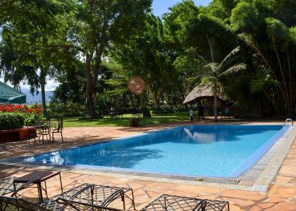 Farm House har også en dejlig pool i et roligt område