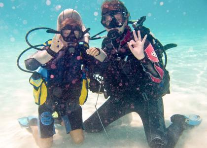 Karafuu har deres eget dykkercenter