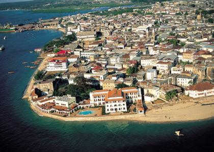 Zanzibars charmerende gamle bydel Stone Town